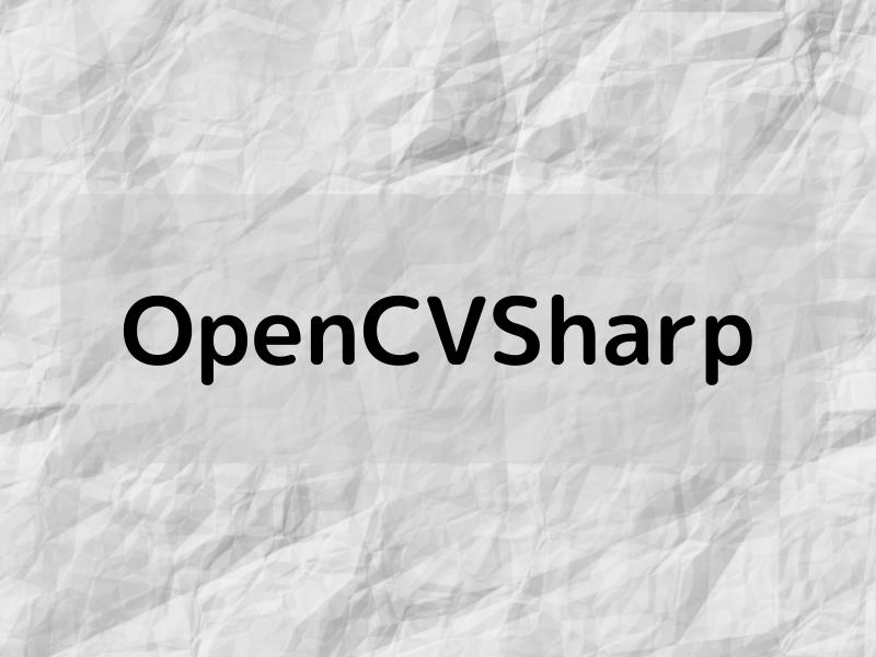 OpenCVSharp